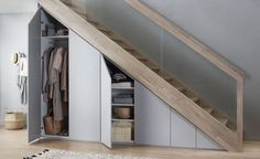49 Ideas living room storage under tv under stairs for 2019 Understairs Storage Ideas Living room stairs storage Staircase Storage, House Staircase, Stair Storage, Modern Staircase, Staircase Design, Spiral Staircases, Closet Storage, Closet Under Stairs, Under Stairs Cupboard