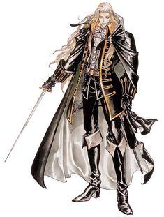 Castlevania: Symphony of the Night - Alucard