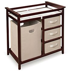 Shop for Modern Cherry Changing Table. Get free delivery at Overstock.com - Your…