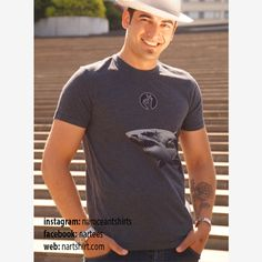 Mens T-shirts – GREAT WHITE SHARK t-shirt |Scuba Diving |Surfing – a unique product by nartshirt on DaWanda