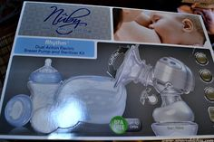 An Opera Singer in the Kitchen: Rhythm™ Dual Action Electric Breast Pump Review
