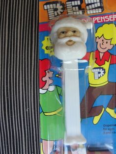 Misfit Tex Mex Santa Clause Pez Dispenser Sealed Blister - Rare