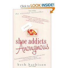 "Shoe Addicts Anonymous: Beth Harbison. On my honeymoon ""to read"" list"