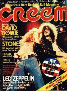 Complete Interview with David Bowie – Creem Magazine '76 – The Uncool - The Official Site for Everything Cameron Crowe