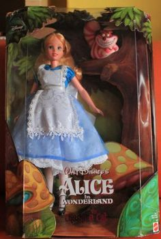 I need this for my collection of Alice memorabilia. Disney's Alice in Wonderland (Mattel 1999)