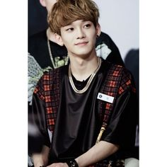 Tumblr ❤ liked on Polyvore featuring chen and exo