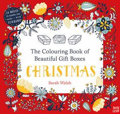 Personalise your own festive boxes with this fantastically innovative book of pull-out gift boxes to colour in and fill with festive treats for your friends and family! #HappyReading