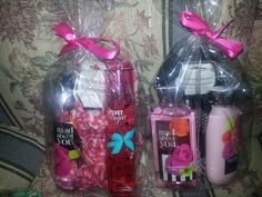Bath and body works sets with scarf