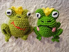 Вязание крючком: Царевна Лягушка Princess Frog Crochet