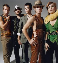 Scissor Sisters; not going to lie I love their music. Dancing to it is fantastic, working out to it even better; cleaning to it.... faaabulous!