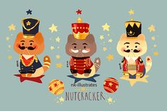 Nutcracker Cats! Also forgot this one too!