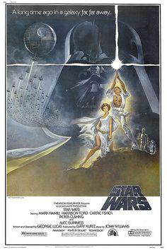 Star Wars movie poster (Thx Donna)