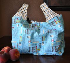 reusable grocery tote (I have got to make these!!!)