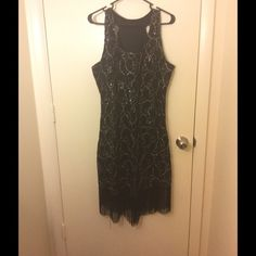 Gastby dress Gastby dress only worn once will need to be dry cleaned Dresses