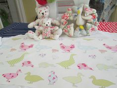 BN Scrumtious Ashley Wilde Cotton Duck Fabric Remnant In Tabatha Sorbet