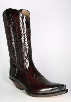 SENDRA-2073-Florentic-fuchsia-en-cuir-veritable-cowboy-western-motards-bottes-hautes  | Awesome cowboy boots for men | Pinterest | Cowboys, Cowboy western ...