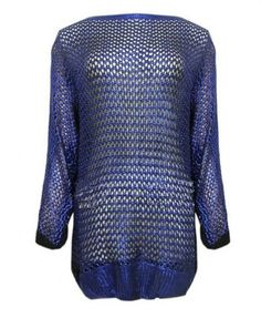 Reversible Sequined Pullover - Knitwear - Clothing