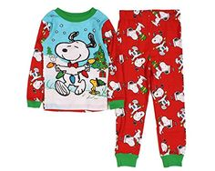 christmas boxes christmas clothes christmas in july toddler christmas pajamas baby snoopy kids pjs cotton pyjamas peanuts snoopy baby toddler - Snoopy Christmas Pajamas