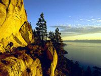 The Flume Trail, a must ride while in Tahoe!
