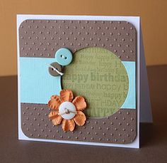 flicker with homemade cards