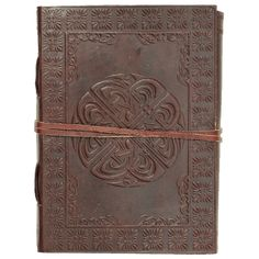 Celtic Circle Leather Journal - NP-V-N8657 by Medieval Collectibles