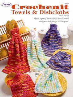 Maggie's Crochet · Crochenit Towels & Dishcloths