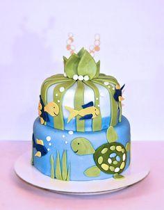 Turtle reef cake. Baby shower cake. Under the sea cake. Underwater cake. Cakebroker – Jacksonville FL cake decorator Get original custom cake designs & prices.   Your Profile