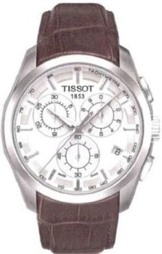 online shopping for Tissot Couturier Chronograph Leather Strap Watch, from top store. See new offer for Tissot Couturier Chronograph Leather Strap Watch, Casual Watches, Cool Watches, Men's Watches, Male Watches, Elegant Watches, Stylish Watches, Seiko, Silver Pocket Watch, Skeleton Watches