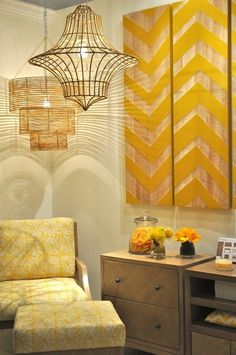 New HIgh Point Intros April 2012 - yellow chevron wood artwork