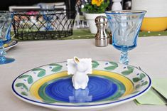 Easter Tablescape - The Lily Sage