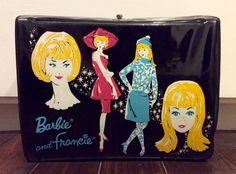 1965 Barbie & Francie Vinyl Mattel/Thermos Brand Lunch Box, Barbie Doll Lunchbox, Vintage Barbie Lunch Box, Collectible Barbie, Doll Case by Lalecreations on Etsy