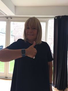 Linda Robson and Fitbit Blaze #loosewomen