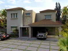 Elegante residencia moderna