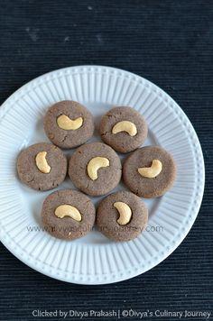 Ragi Honey Cookies (Eggless) - Easy to make healthy cookies