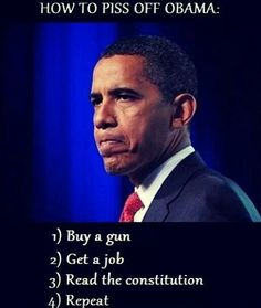 How to piss off Obama