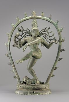 A bronze statue of the Hindu god Shiva, approx. It was created in India during the Tamil Chola dynasty (IX-XIII); Freer Gallery of Art and Arthur M. Indian Gods, Indian Art, Bronze Sculpture, Lion Sculpture, Chola Dynasty, Asian Sculptures, Hindu Statues, Freer Gallery, Shiva Statue