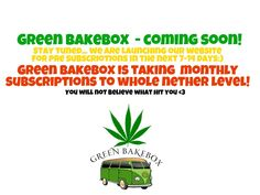 The good stuff is about to be #enjoyed on a whole 'nether' level! This isn't going to be just another subscription website, nah. This gon' blow your mind! Once you go Green BakeBox, you will never go back;) #marijuana #stoner #stoned #ganja #cannabis #weed