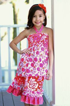 Tween Boutique Skirt PDF Sewing Pattern