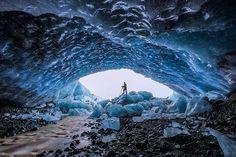 15 imágenes de las cuevas de hielo en Islandia que parecen de otro planeta