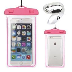 Water-proof cell phone case. Works amazing with active touch screen capabilities.