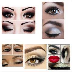 Makeup Ideas For A Red Dress.   Beautylish