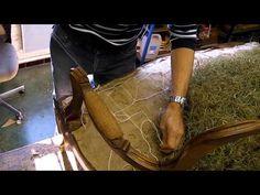 "Restauration d'une chaise 'Mise en crin animal"" - YouTube"