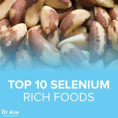 Top 10 Foods High in Selenium Selenium is a trace mineral that works in conjunction with vitamin E to help prevent oxidative damage in the . Foods For Thyroid Health, Thyroid Diet, Amino Acid Supplements, Nutritional Supplements, Health And Wellbeing, Health And Nutrition, Health Care, Natural Remedies For Heartburn, Natural Cures