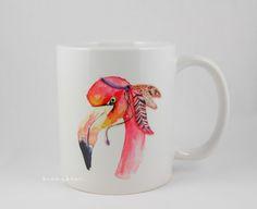 Stampin with Beemybear: Flamingo-Tassen