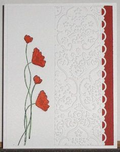 FS270 poppies by lacyquilter - Cards and Paper Crafts at Splitcoaststampers