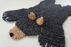 Ravelry: Bear Rug pattern by Cheryl Patzer