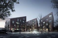 Krøyers Plads by Vilhelm Lauritzen Architects & COBE Architects (Copenhagen, Denmark)
