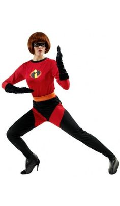 Costume Mrs Indestructible™ Deluxe - The Incredibles™ - Disney/Pixar©