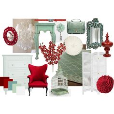 Red & Teal Color palette. Very Bold. Beautiful.