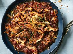 Hunter's Sausage-and-Sauerkraut Stew Recipe  - Andrew Zimmern | Food & Wine